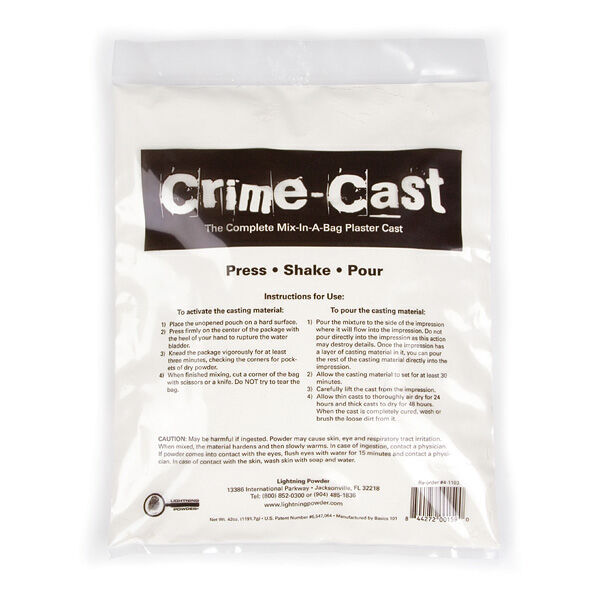 Crime-Cast Plaster Casting Kit