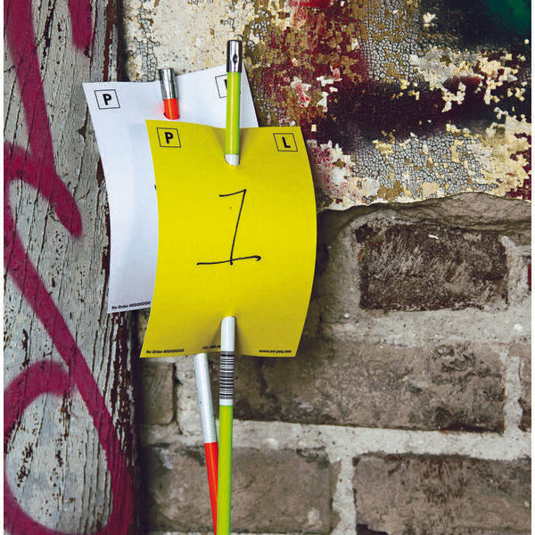Disposable Evidence Pole Cards