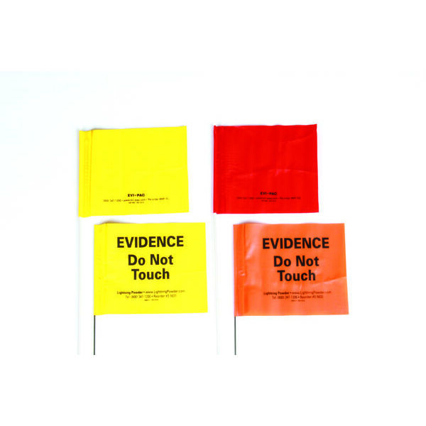 Evidence Flags - Printed or Blank