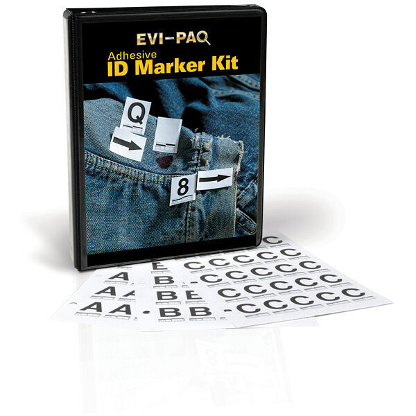 Adhesive ID Marker Book