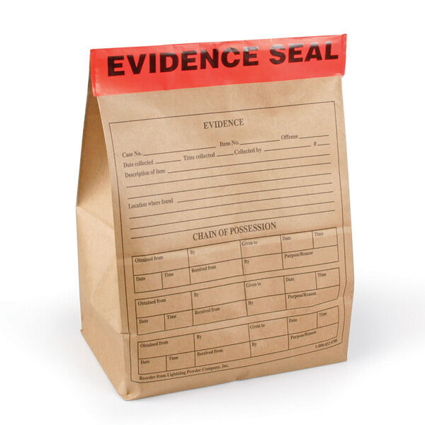"Extra-Large Evidence Seals, 4"" x 12"", Pack of 100"