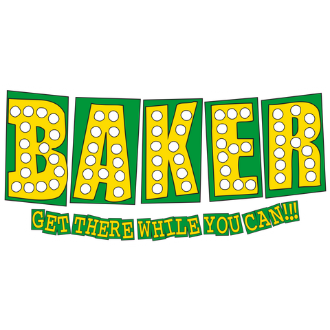 BAKE JUNT STICKER