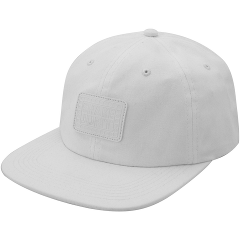 BOX LOGO STRAPBACK WHITE