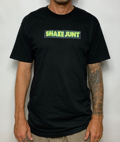 Stretch Sticker Tee Black
