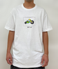 3 Wheeler White Tee