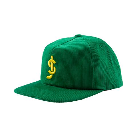 Crook Green Cord Snapback