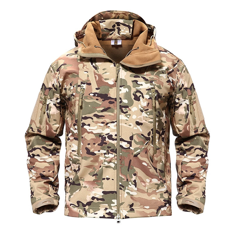 Military tactical winter waterproof Jacket