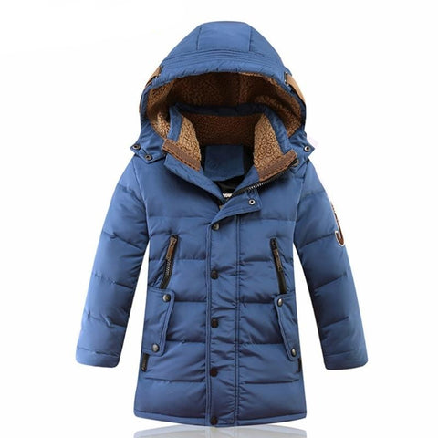 Winter duck down jacket
