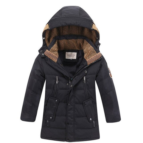 -30 Degree Children kids Winter Duck Down Jacket Padded Children Clothing 2019 Big Boys  clothes Warm Coat Thickening Outerwear - Prime Essentials