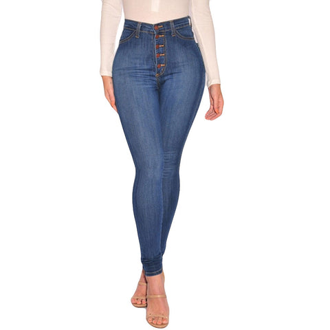 Stretch Slim Stylish Jeans for Ladies