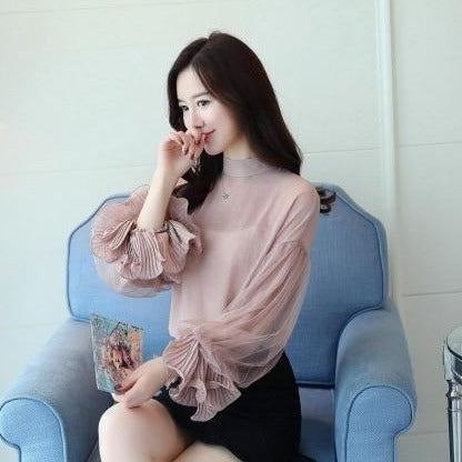 Summer Chiffon Casual Blouse for Women