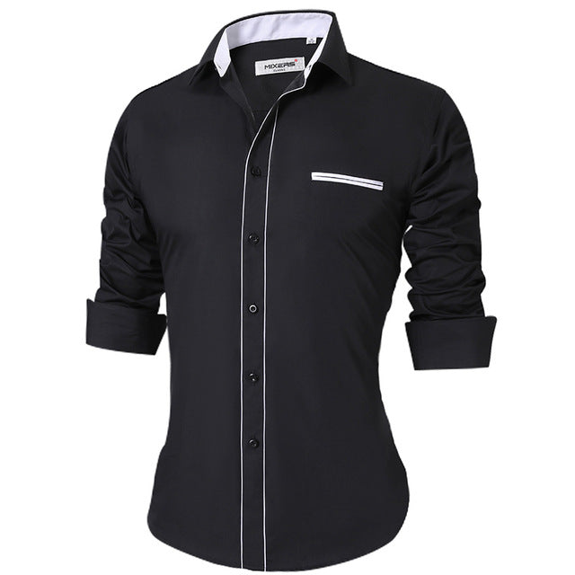 Breathable Regular Fit Office Men's Shirt