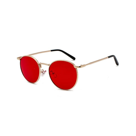 Latest 2020 Beautiful Gold Sunglasses at | Prime Essentials | Metal Round Sunglasses