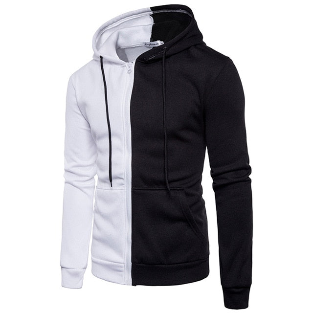 Winter outerwear slim fit hoodie