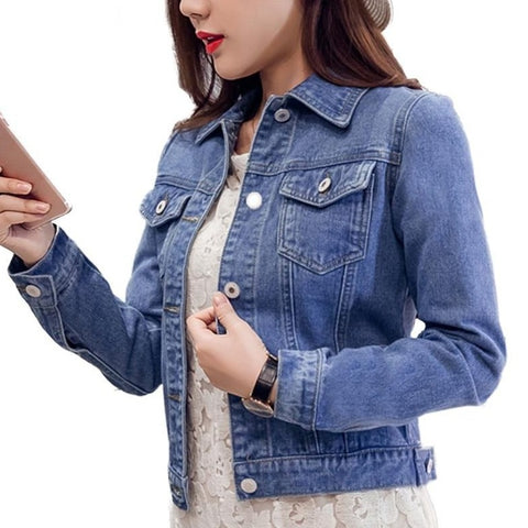 Single Breasted Jeans Wrangler Jacket