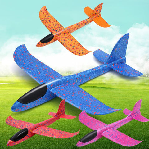 Toy Airplanes 48CM/35CM Children Hand Throw Flying Glider Plane