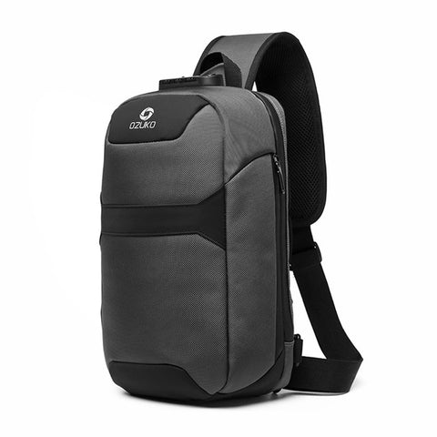 Anti-theft Sling Backpacks With Laptop Compartment 3-Digit Lock