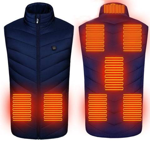 Winter Heated Sleeveless Vest Jacket.