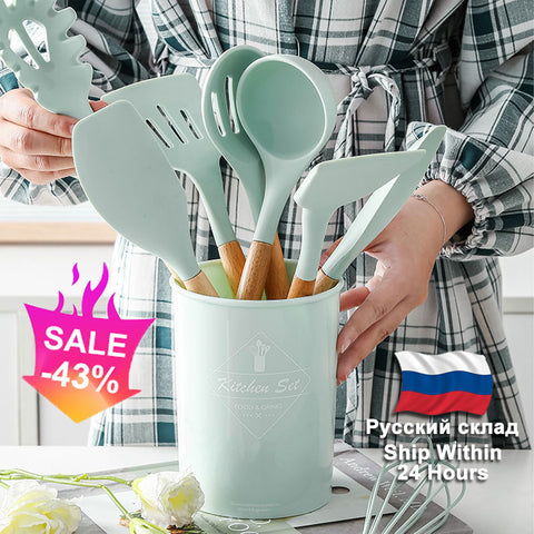 Non-Stick Kitchen Utensils Set