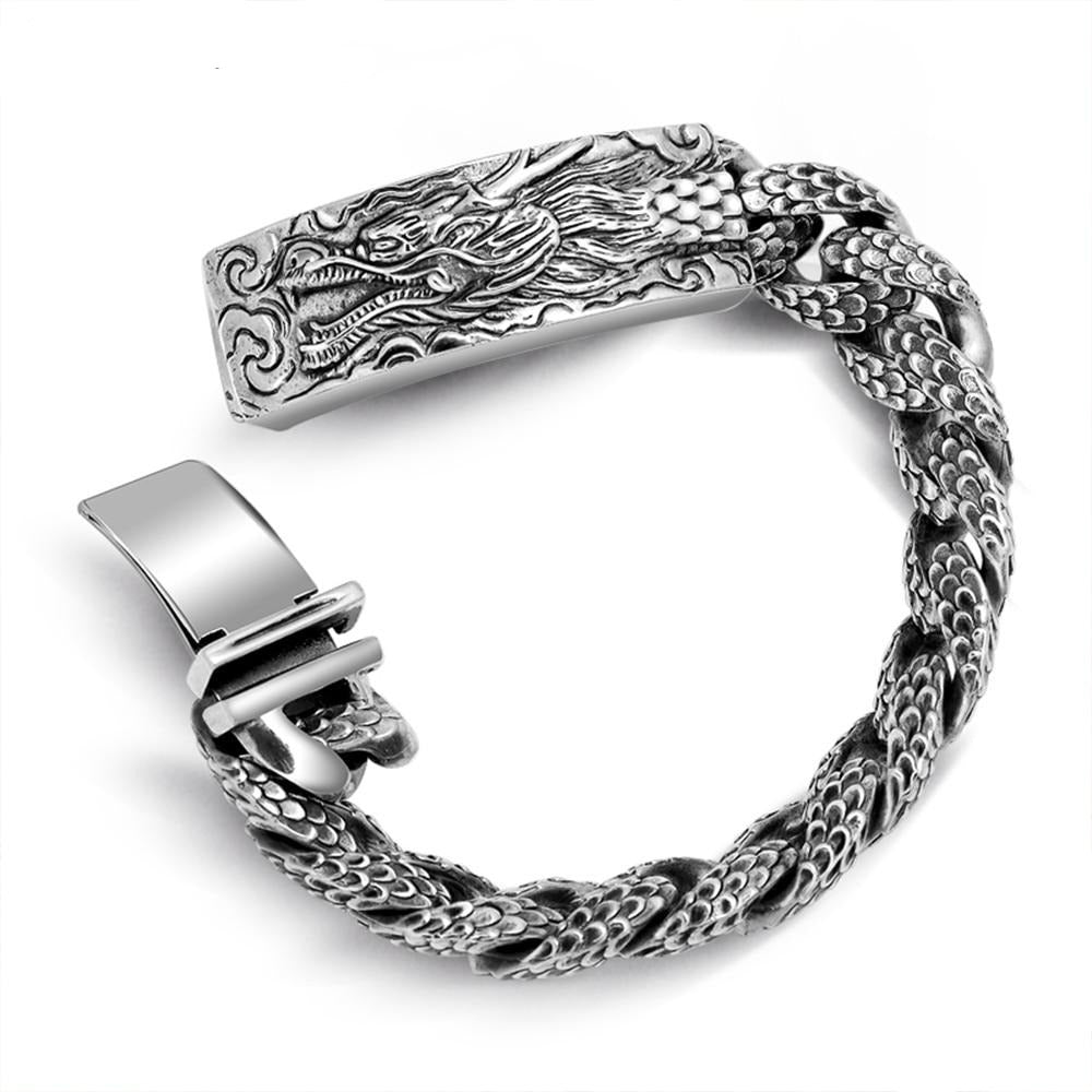 Men's Punk Dragonscale Bracelets