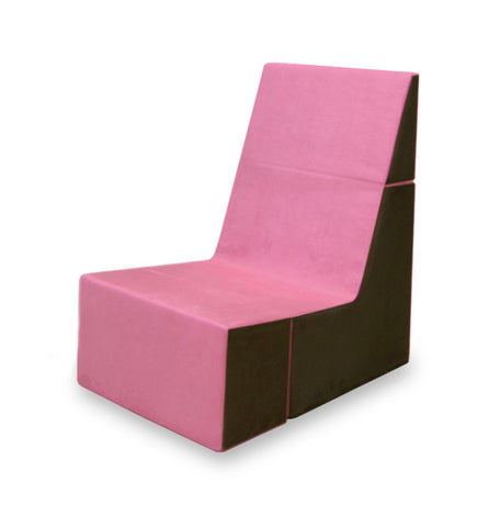 Cubit Chair in Pink/Java