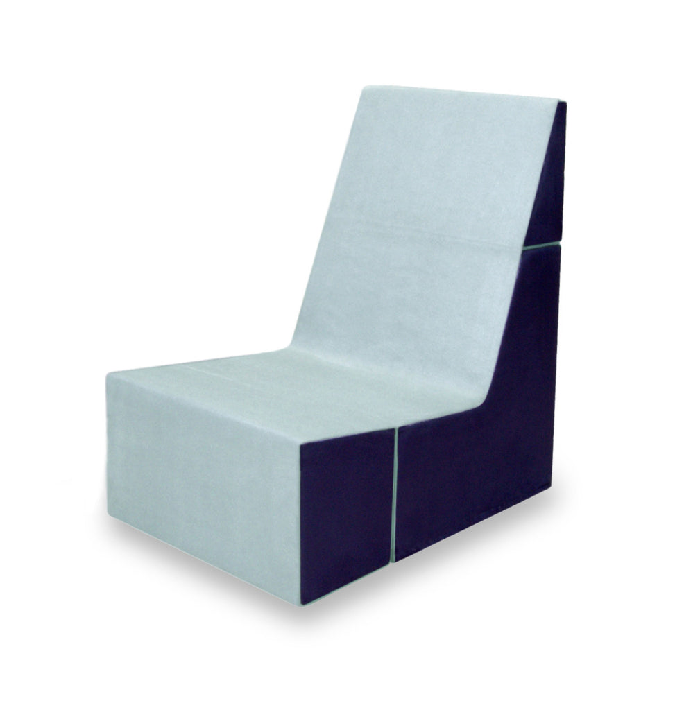 Cubit Chair in Spa/Cobalt