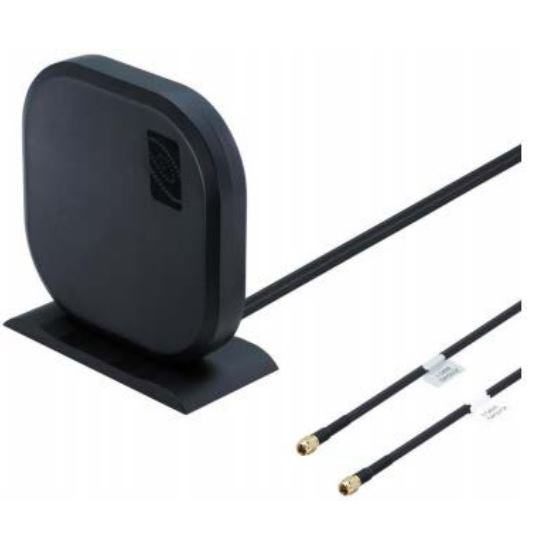 170669-000: Cradlepoint Panel Patch Antenna for MIMO 4G / LTE / 3G / 2G for indoor/Desk application