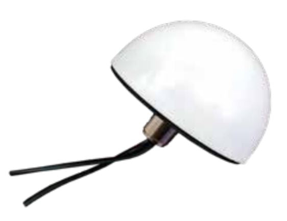 4GDPSM-W: PCTel Dual 4G/LTE Low Profile White Permanent Mount Antenna 698-960 MHz, 1710-2700 MHz