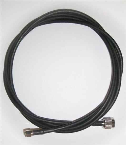 71436: Times-7 6ft Antenna Cable - 195 Type Cable - RP TNC Male to SMA Male