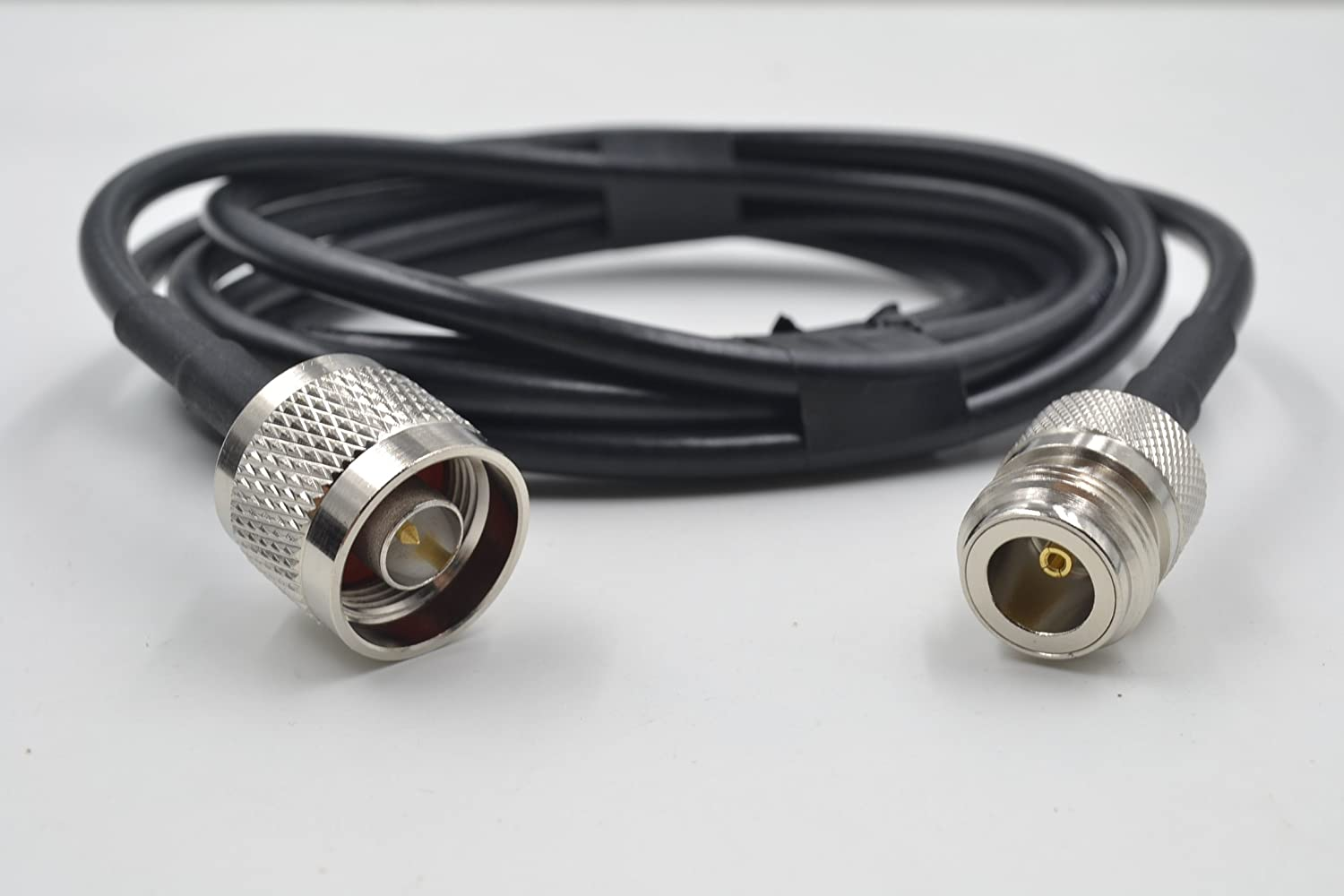 PT400-1000-SNM-SNF: LMR400 Type Equivalent Bulk Coax Cable - 1000 Ft - N Male and N Female Connectors