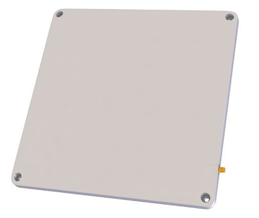 A5010-60001 10x10 inch SlimLine Low-Profile IP67 Flush Mount Circularly Polarized RFID Antenna - FCC