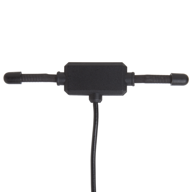 ANT-916-MHW-SMA-S: 916MHz MHW Series Stick-On 1/2 Wave Dipole Antenna, 2m Cable, SMA Connector