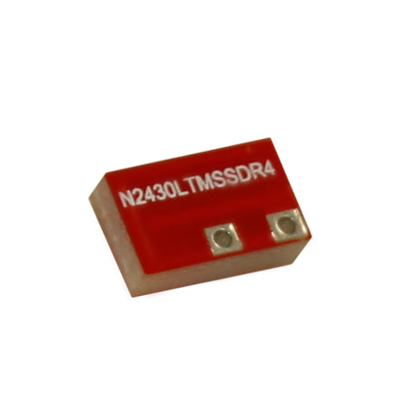 N2430LTMSSDR4-PT : Airgain Dual-band(2.4-2.49 GHz and 4.9-5.9 GHz) PCB chip antenna with SMT/ Surface mounting on a main PCB; uses micro stripline RF interface