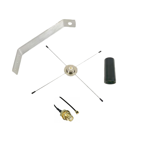 CELL-ANT3DB: Weatherproof External 4G/LTE Cellular Antenna Kit for Honeywell AlarmNet Security and Fire Alarm Systems