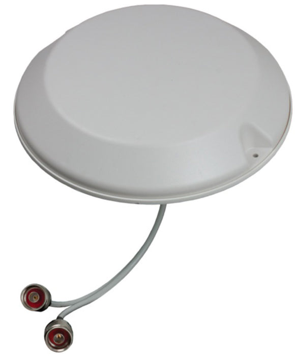 Low PIM 2-port MIMO Ceiling Mount Antenna - 18 inch N-Female