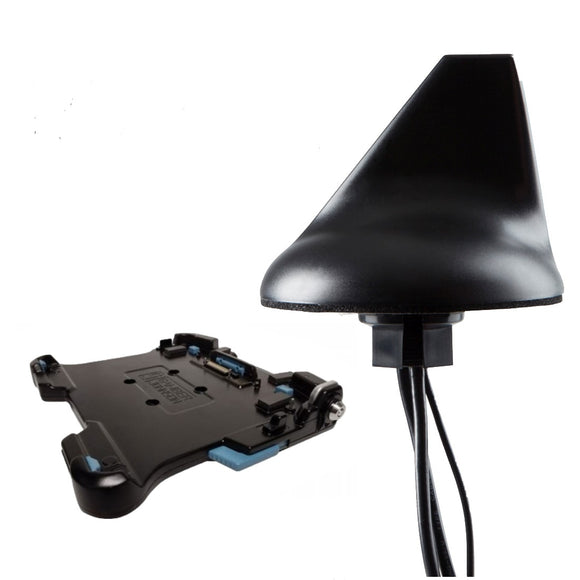 Panasonic Toughbook - Gamber Johnson Docking Station - Black Vehicular Antenna. GPS + 3G/4G/LTE Cellular + WiFi