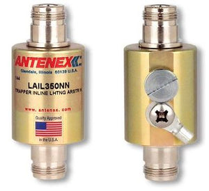 LAIL350NN: Lightning Arrestor N-Female to N-Female for up to 1000 MHz