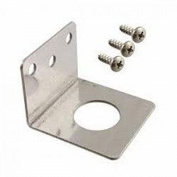 NMO antenna mount bracket / Conductive Trunk Groove / Fender Bracket Mount - Stainless Steel to mount NMO kits. 3/4. Does not include screws.