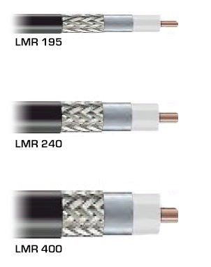PT40F-020-STM-STMRA: 400 Type Low Loss, Ultra Flexible Coax Cable - 20 Feet - Standard TNC Male- Right Angle TNC Male
