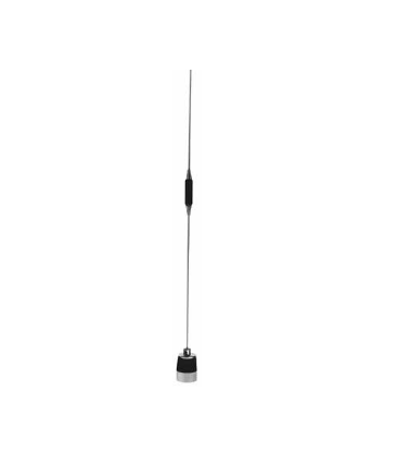 MUF4905: PCTEL / Maxrad Chrome Heavy Duty Low Profile Base Antenna - UHF 490-512 MHz - 5 dB - No Ground Plane