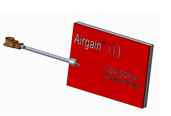 N2410DPM-T-G50U : Airgain Dual-band(2.39-2.49 GHz and 4.9-5.9 GHz), Single feed PCB Plug and play antenna with 50 mm cable and IPEX/MHF/UFL connector