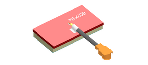 N5X20B-T-G50U : Airgain Single-band (4.9-5.9 GHz) PCB Chip antenna with 50 mm cable and IPEX/MHF/UFL connector