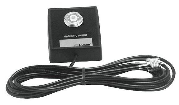 NMO Magnetic Mount - Square - 12 foot CX (RG-58U) - No Connector