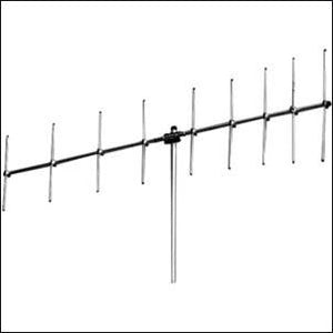 P1664: 162-166.5MHz HD Yagi Antenna 4 Elements, UHF Conn.