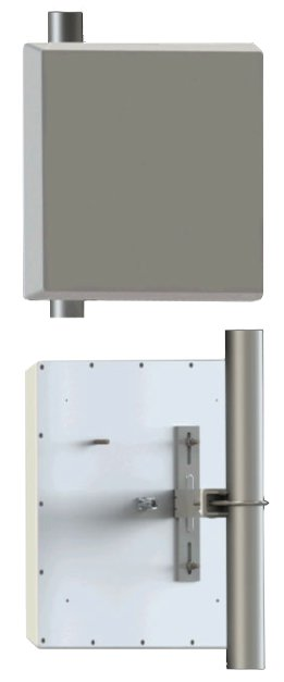 PA9-13-H/V: 15x15 Inch Linear Polarity Directional Flat Panel RFID Antenna