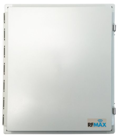20x16x8 inch Prewired Weatherproof Enclosure for 4 Port RFID Readers