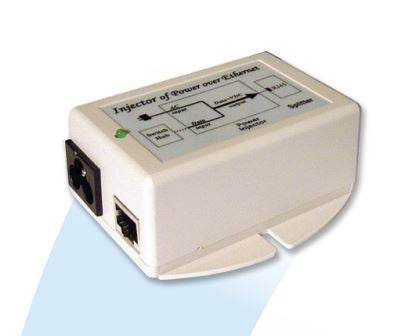 POE-18I: POE Power Supply/Inserter Input 90-264VAC. Output 18VDC at .7A, 12W