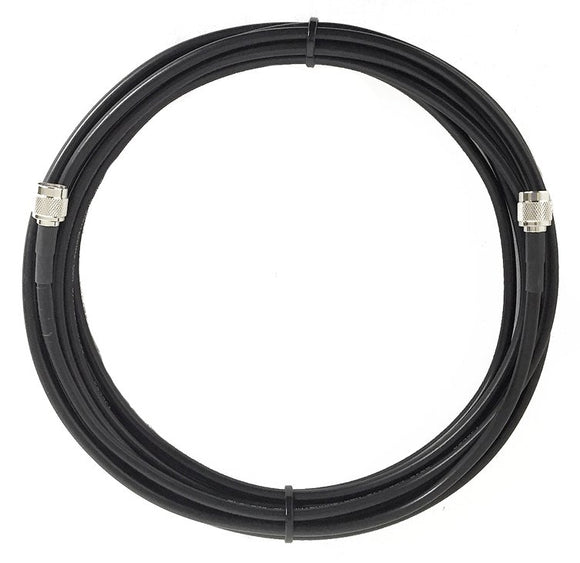 PT240-004-STM-SSM: 240 Type Low Loss Coax Cable - 4 Feet - TNC Male - SMA Male