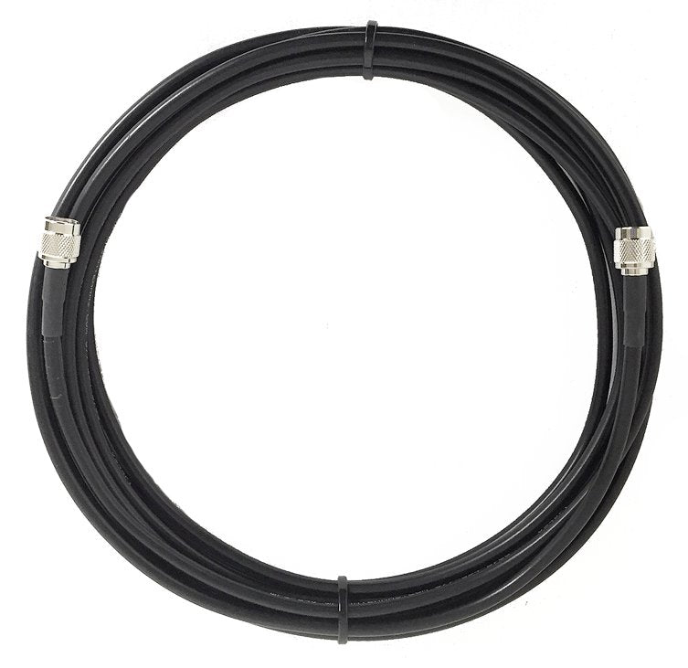 PT195-025-RTM-SSM: 25 Feet LMR 195 Cable Assembly with RP TNC-Male and SMA-Male Connectors