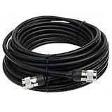 LMR400 Type Equivalent Low Loss Coax Cable - 25 Feet - SMA Male - RP TNC Female